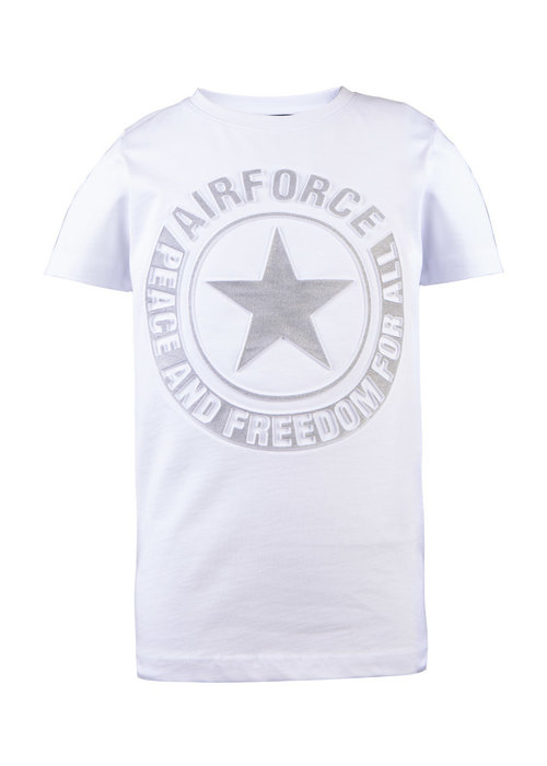 AIRFORCE AIRFORCE KIDS T-SHIRT TEE EMBOSS REFLECTION