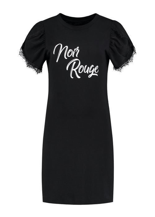 NIKKIE NIKKIE NOIR ROUGE TEE DRESS Dress with artwork
