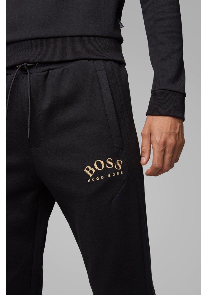 HUGO BOSS Slim-fit joggingbroek met logo en boorden