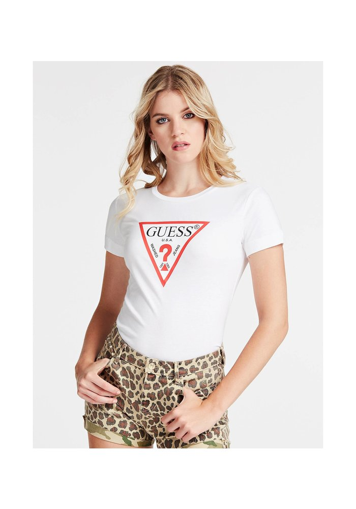 GUESS SS CN ICON T-SHIRT