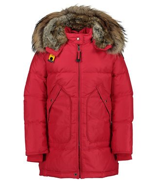 PARAJUMPERS LONG BEAR PARKA GIRL RED