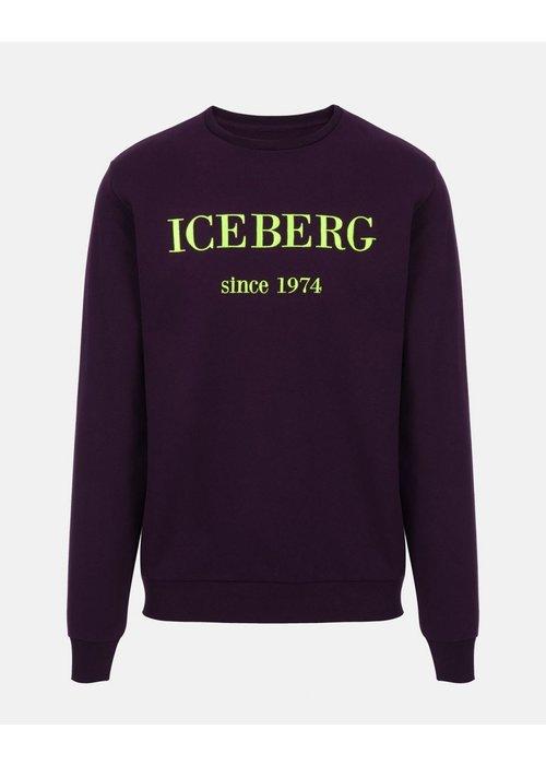 ICEBERG ICEBERG LOGO-SWEATER FW19