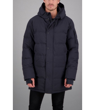 AIRFORCE CHUCK PARKA SOFTSHELL DARK NAVY BLUE