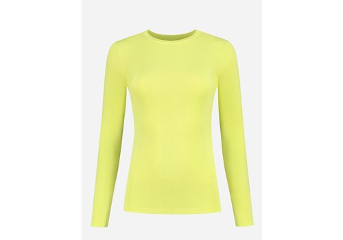 NIKKIE NIKKIE JOLIE TOP LS YELLOW