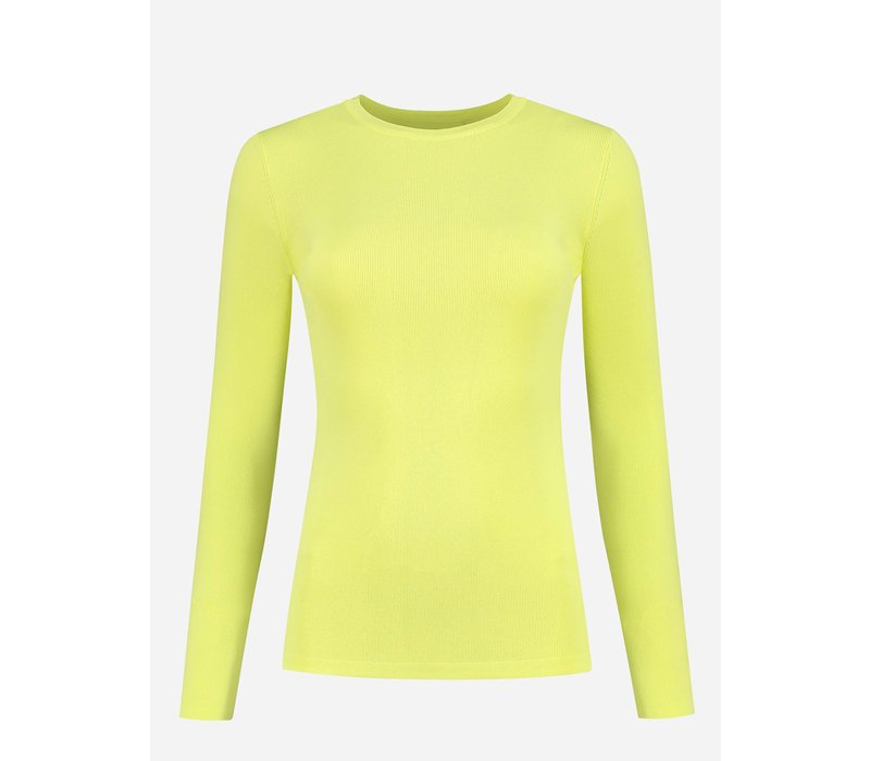 NIKKIE JOLIE TOP LS YELLOW