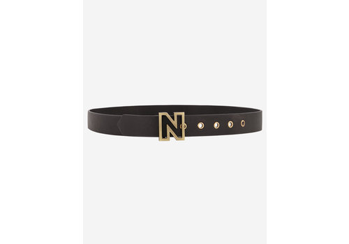 NIKKIE NIKKIE DAPHNE BELT SMALL N LOGO BUCKLE BELT