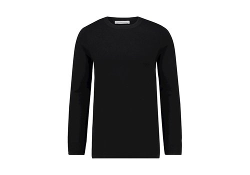 PURE WHITE PURE WHITE ESSENTIAL KNITTED CREWNECK JUMPER