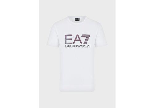 EA7 ARMANI EA7  T-shirt with iridescent logo