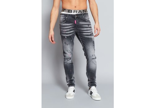 MY BRAND MY BRAND FADED PINK SPOT JEANS