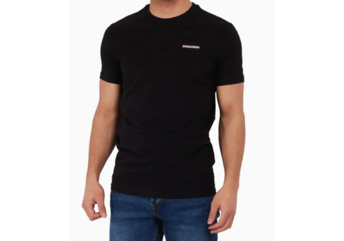 DSQUARED2 DSQUARED2 ROUND NECK T-SHIRT 100
