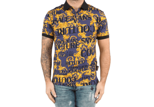 VERSACE JEANS COUTURE VERSACE COUTURE SPROUS BAROQUE POLO