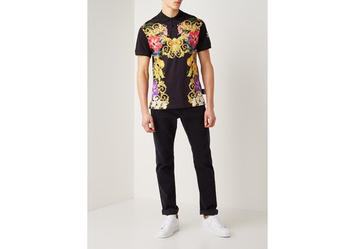 VERSACE JEANS COUTURE VERSACE COUTURE GEO INDIA POLO