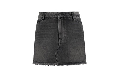 NIKKIE NIKKIE BESSIE FADED BLACK SKIRT