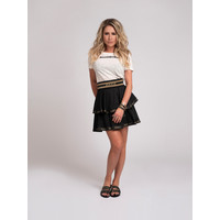 NIKKIE Ruffle skirt with NIKKIE logo tape NYNKE SKIRT