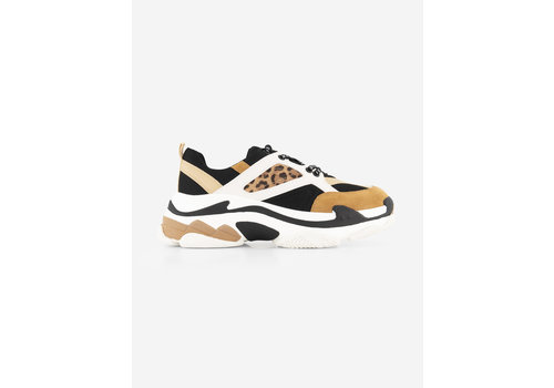 NIKKIE NIKKIE Animal print sneakers with branded laces DALIA ANIMAL SNEAKERS