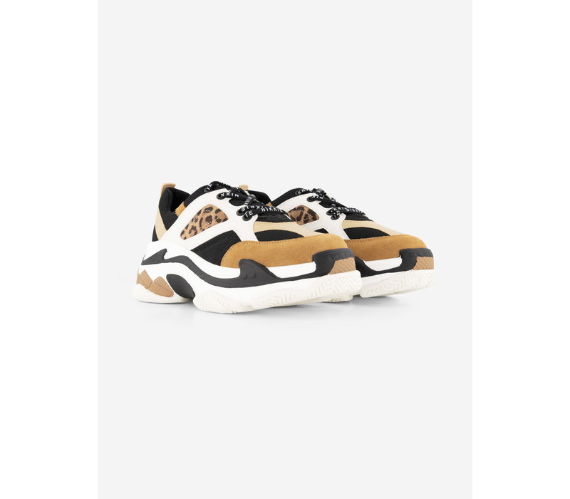 NIKKIE Animal print sneakers with branded laces DALIA ANIMAL SNEAKERS