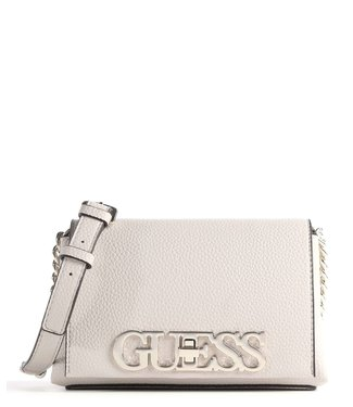 GUESS Uptown Chic Schoudertas STONE SILVER
