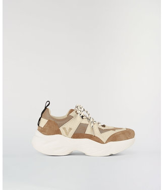JOSH V LACY SNEAKERS ALMOND