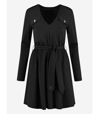 NIKKIE SUZY UTILITY DRESS BLACK
