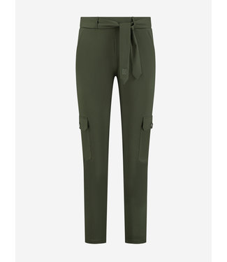 NIKKIE SUZY UTILITY PANTS NIGHT FOREST
