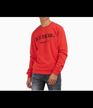 ICEBERG SWEATER FELPA 5C RED