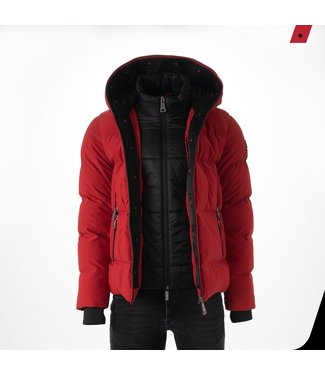 AB LIFESTYLE HOODED DOWN JACKET
