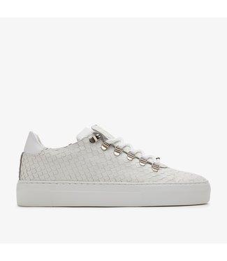 NUBIKK Jagger Python | Witte Sneaker