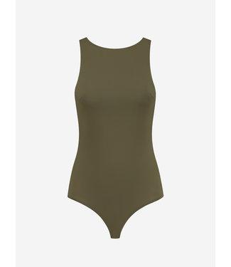 NIKKIE Suzy body with zipper green