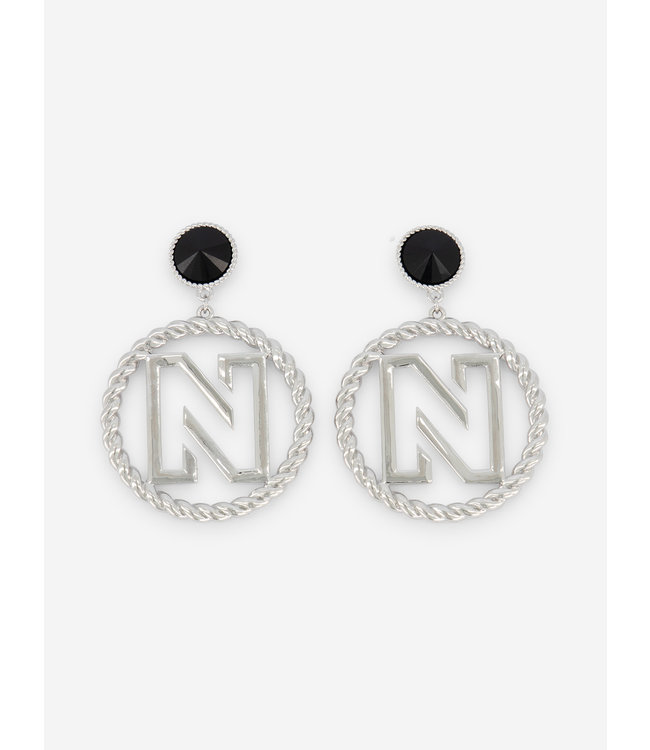 NIKKIE EARRINGS WITH N LOGO BENICE EARRINGS