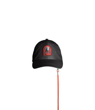PARAJUMPERS ACCESSORIES FOR UNISEX BRAVO CAP - BLACK