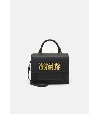 VERSACE JEANS COUTURE LOGOLOCK TAS SS21 BLACK
