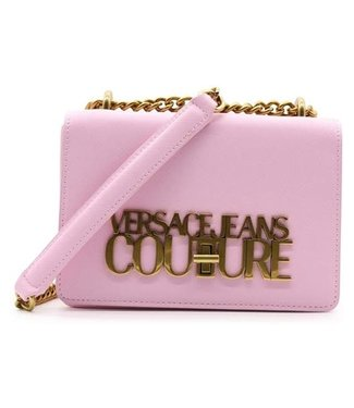 VERSACE JEANS COUTURE LOGOLOCK SMALL SS21 PINK
