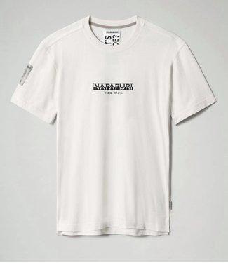 NAPAPIJRI T-SHIRT OAHU SS21 OFF WHITE