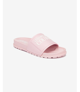 VERSACE JEANS COUTURE SLIPPERS LINEA SS21 PINK