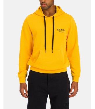 ICEBERG SS21 Yellow Iceberg hooded sweatshirt