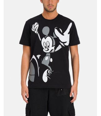 SS21 Black Iceberg T-shirt with Mickey Mouse graphic