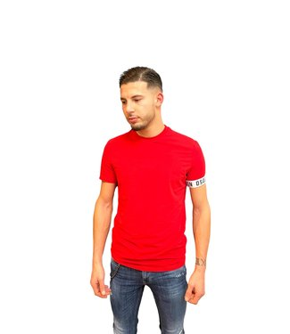 DSQUARED2 ICON T-SHIRT RED SS21