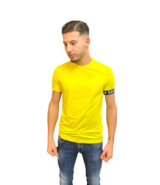 DSQUARED2 ICON T-SHIRT YELLOW 21