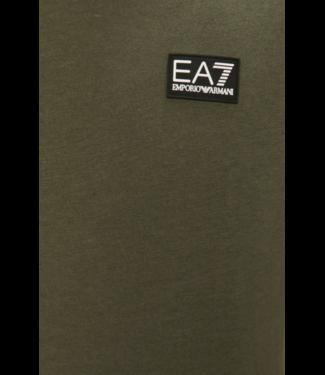 EA7 ARMANI JERSEY T-SHIRT SS21 GREEN