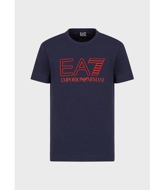EA7 ARMANI T-SHIRT EA7 SS21 BLUE
