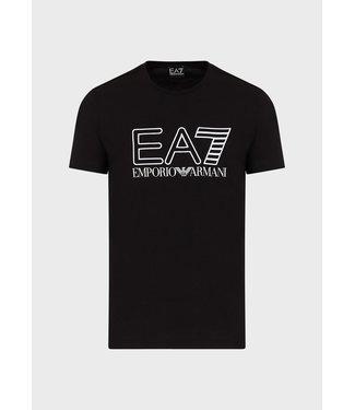 EA7 ARMANI T-SHIRT EA7 SS21 BLACK
