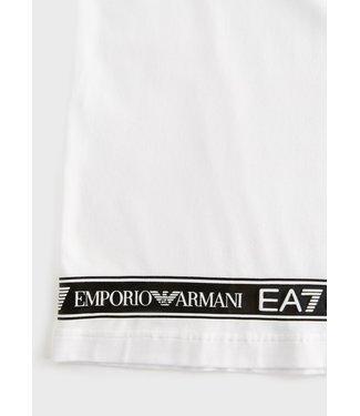 EA7 ARMANI T-SHIRT JERSEY SS21 WHITE