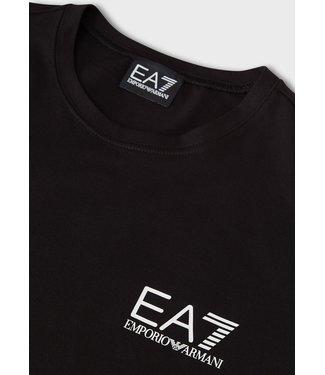 EA7 ARMANI T-SHIRT JERSEY SS21 BLACK