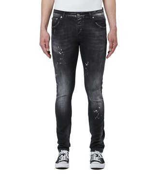MY BRAND DENIM  DISTRESSED JEANS BLACK
