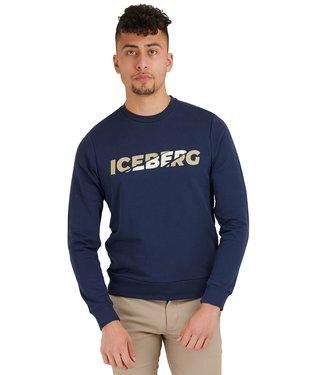 ICEBERG SWEATER E052 SS21 DONKER BLAUW