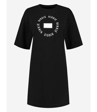 NIKKIE ROUND NIKKIE TEE DRESS BLACK