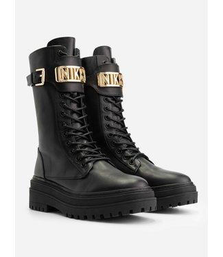 NIKKIE Lynn boots gold logo