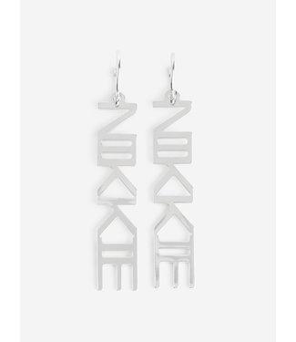 NIKKIE Lucy earrings silver