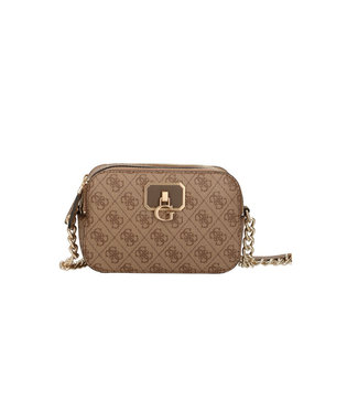 GUESS NOELLE CROSSBODY BROWN SS21