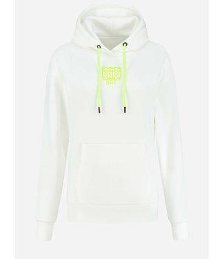NIKKIE One hoodie star white